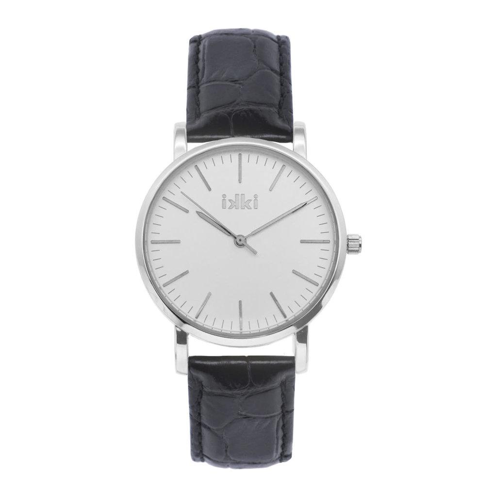 IKKI IKKI horloge Jamy JM10 Black Silver