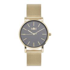 IKKI IKKI horloge Jamy JM13 Gold Black