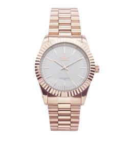 IKKI IKKI horloge Knox KN02 Rosé Gold Silver