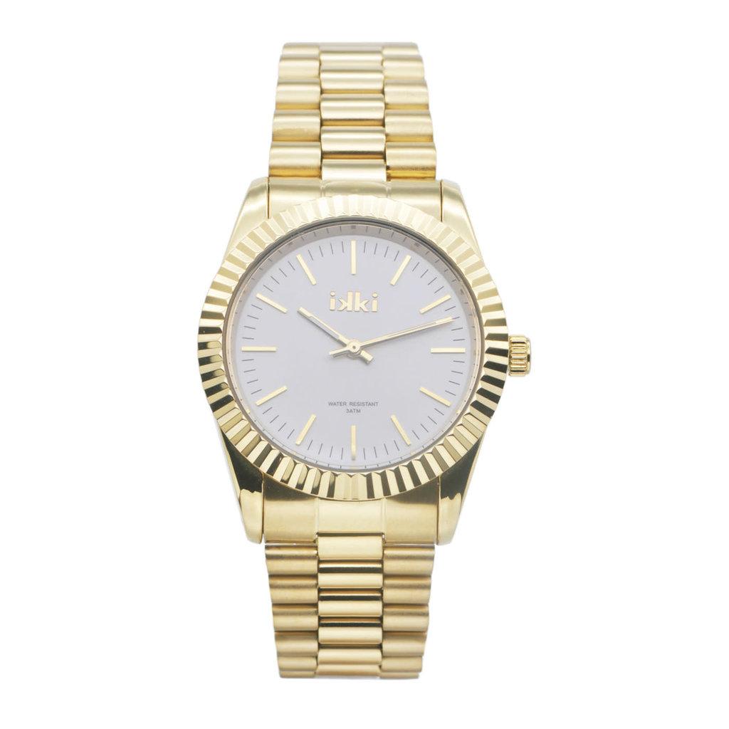 IKKI IKKI horloge Knox KN03 Gold Silver