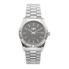 IKKI IKKI horloge Knox KN04 Silver Black