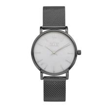 IKKI IKKI horloge Morris MS03 Gun White Marble