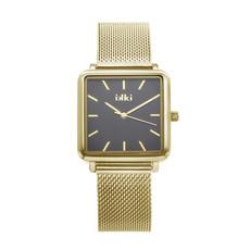 IKKI IKKI horloge Tenzin TE03 Gold Black