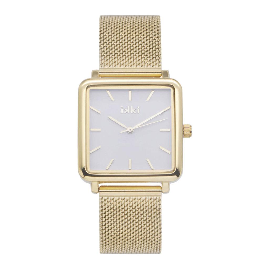IKKI IKKI horloge Tenzin TE09 Gold Silver
