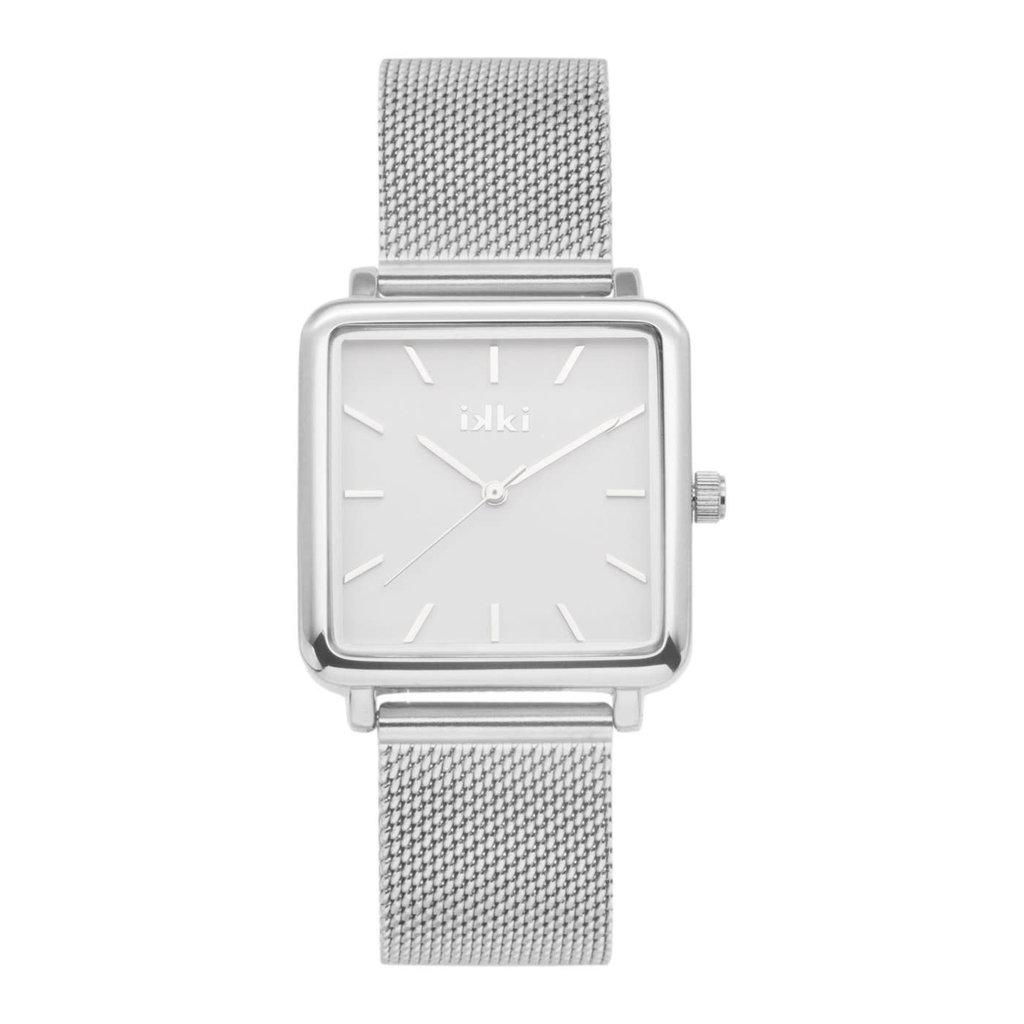 IKKI IKKI horloge Tenzin TE11 Silver White