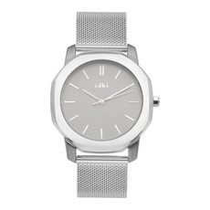 IKKI IKKI horloge Vance VC02 Silver Grey