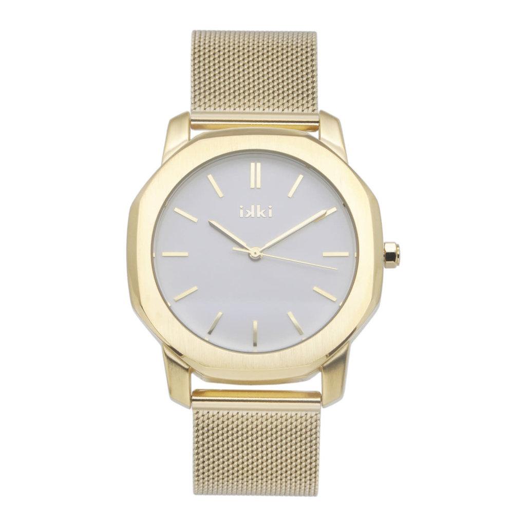 IKKI IKKI horloge Vance VC04 Gold/White