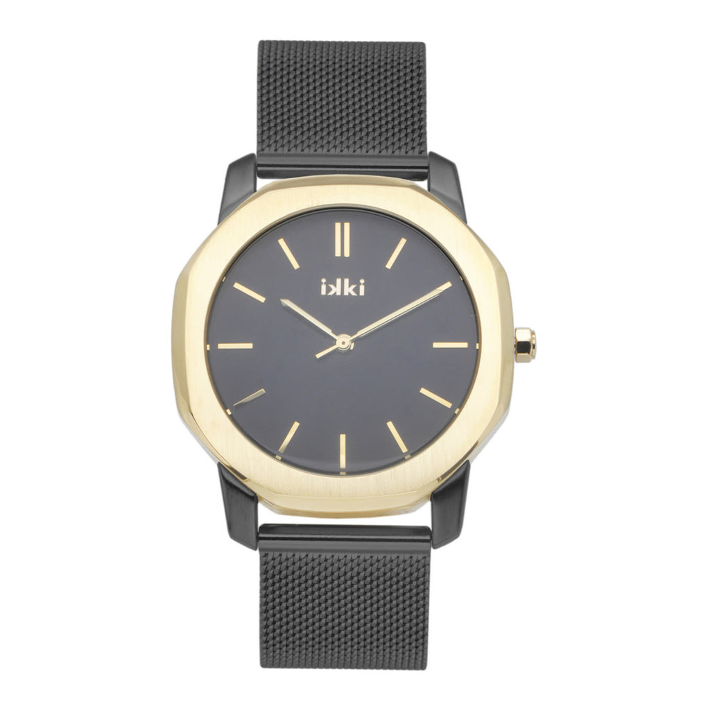 IKKI IKKI horloge Vance VC06 Black Gold