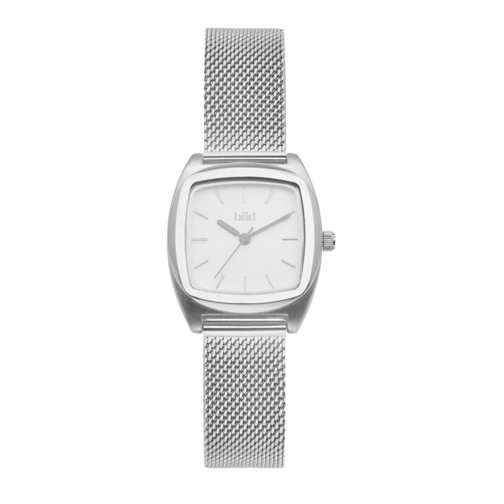IKKI IKKI horloge Vinci VN01 Silver White