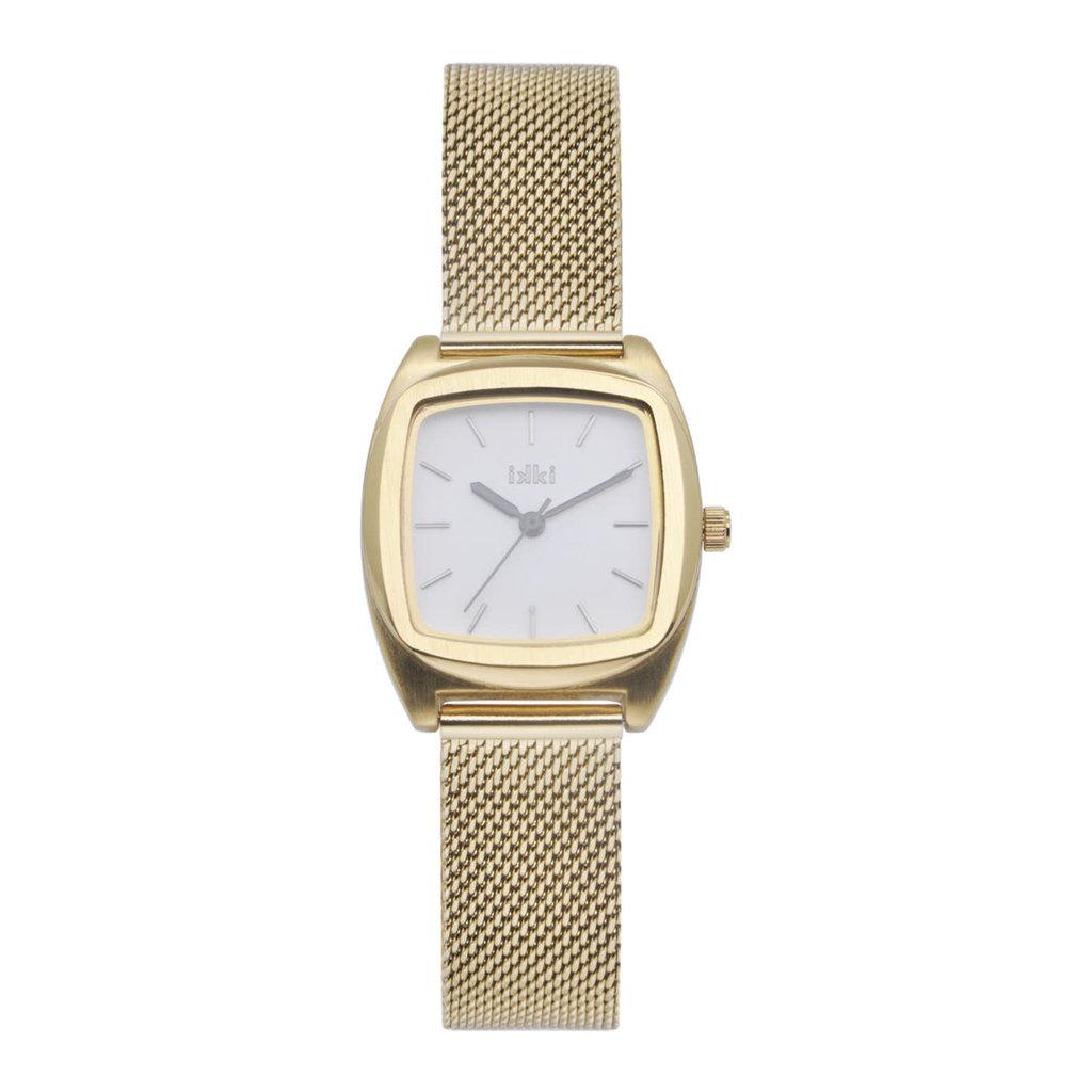 IKKI IKKI horloge Vinci VN02 Gold White