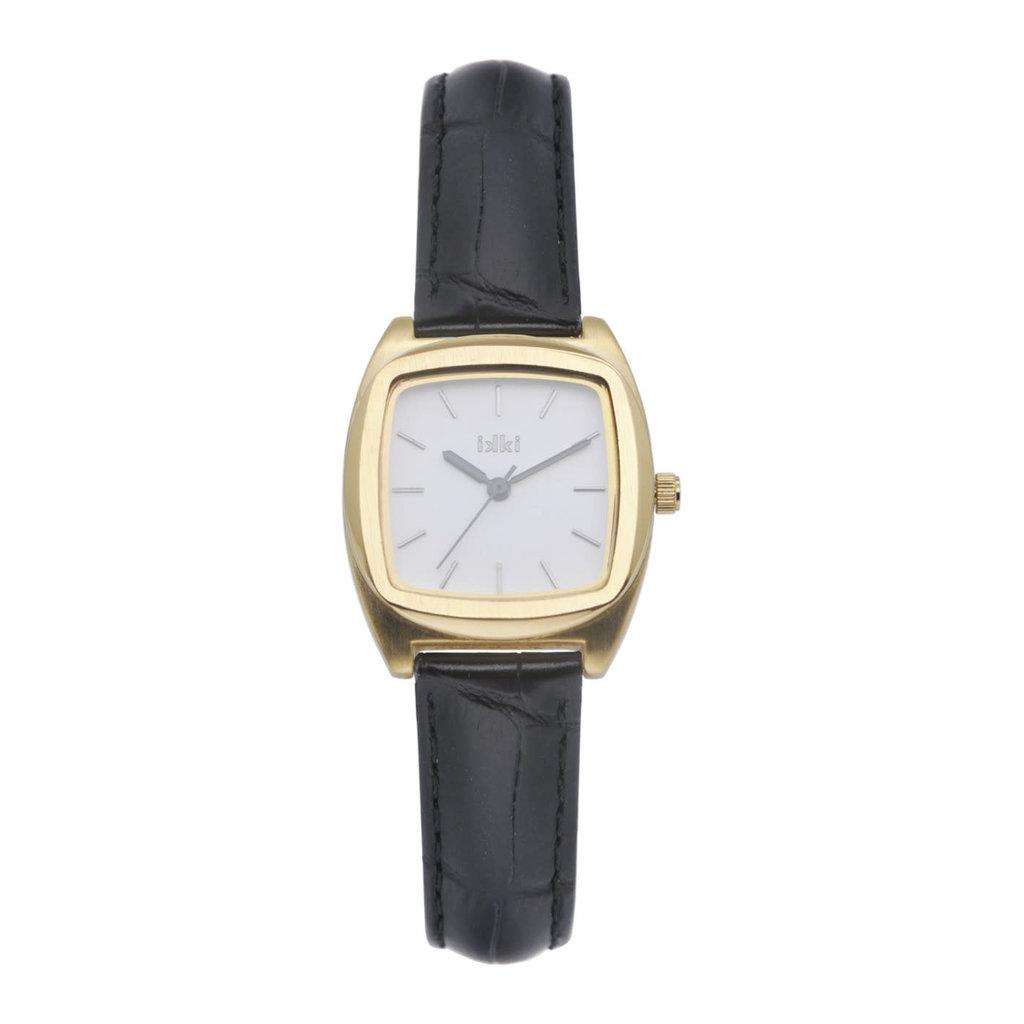 IKKI IKKI horloge Vinci VN05 Black Gold White