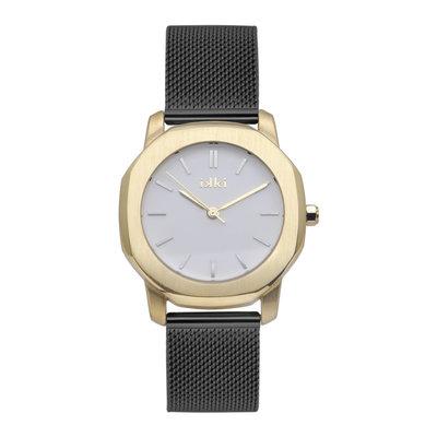 IKKI IKKI horloge Virgil VR11 Black Gold White