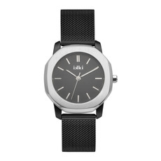 IKKI IKKI horloge Virgil VR6 Black Silver