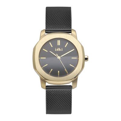 IKKI IKKI horloge Virgil VR8 Black Gold