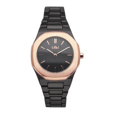 IKKI IKKI horloge York YR05 Black Rosé Gold