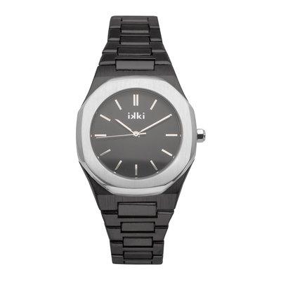 IKKI IKKI horloge York YR06 Black Silver