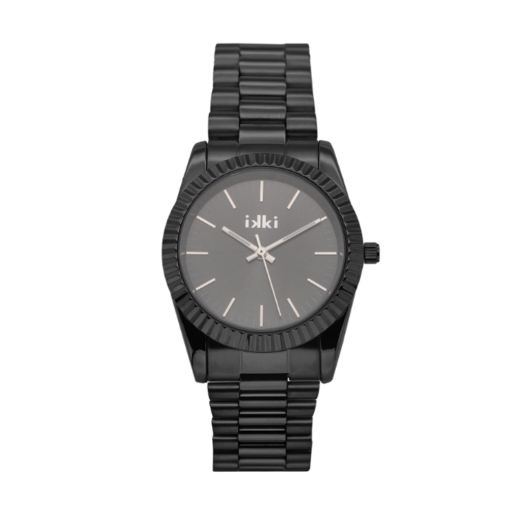 IKKI IKKI horloge Bronx BX11 Black Grey