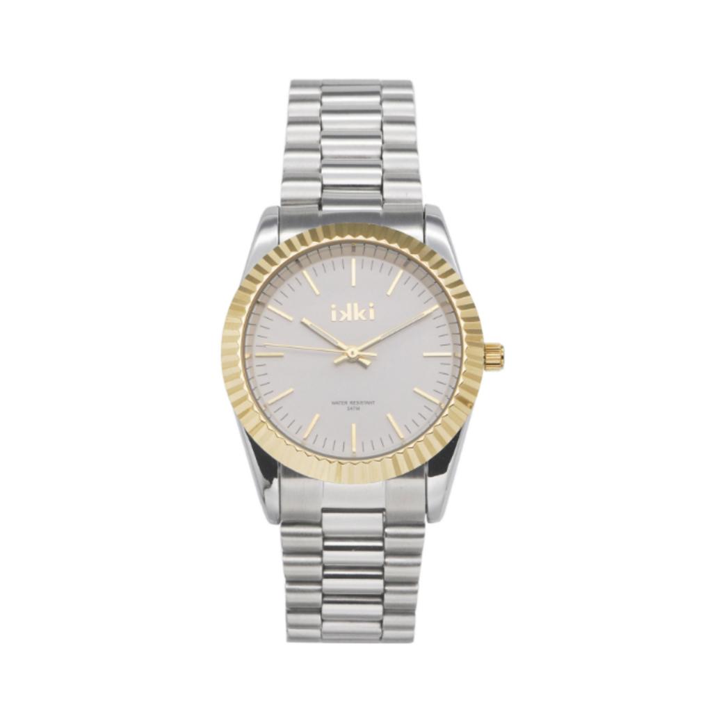IKKI IKKI horloge Bronx BX06 Silver/Gold