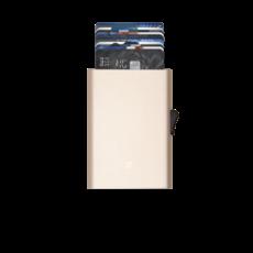 C-Secure C-Secure Cardholder Champagne Gold
