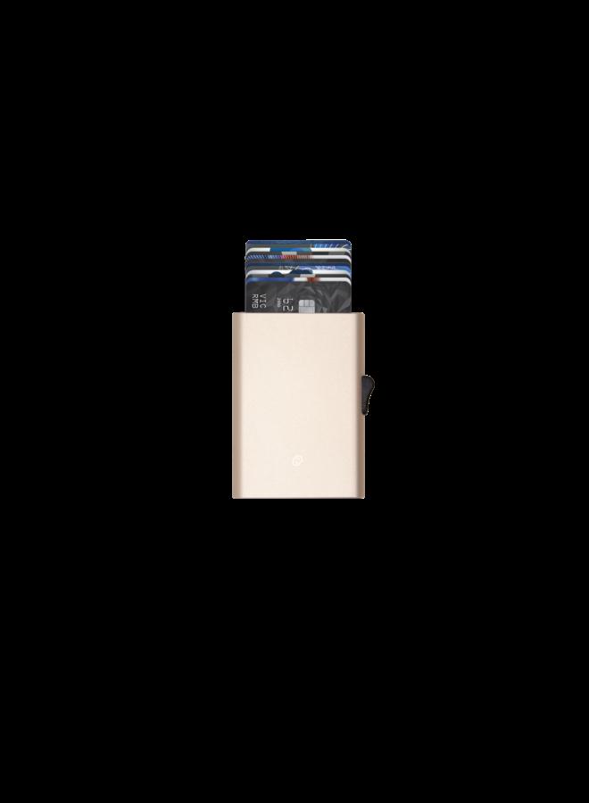 C-Secure Cardholder Champagne Gold