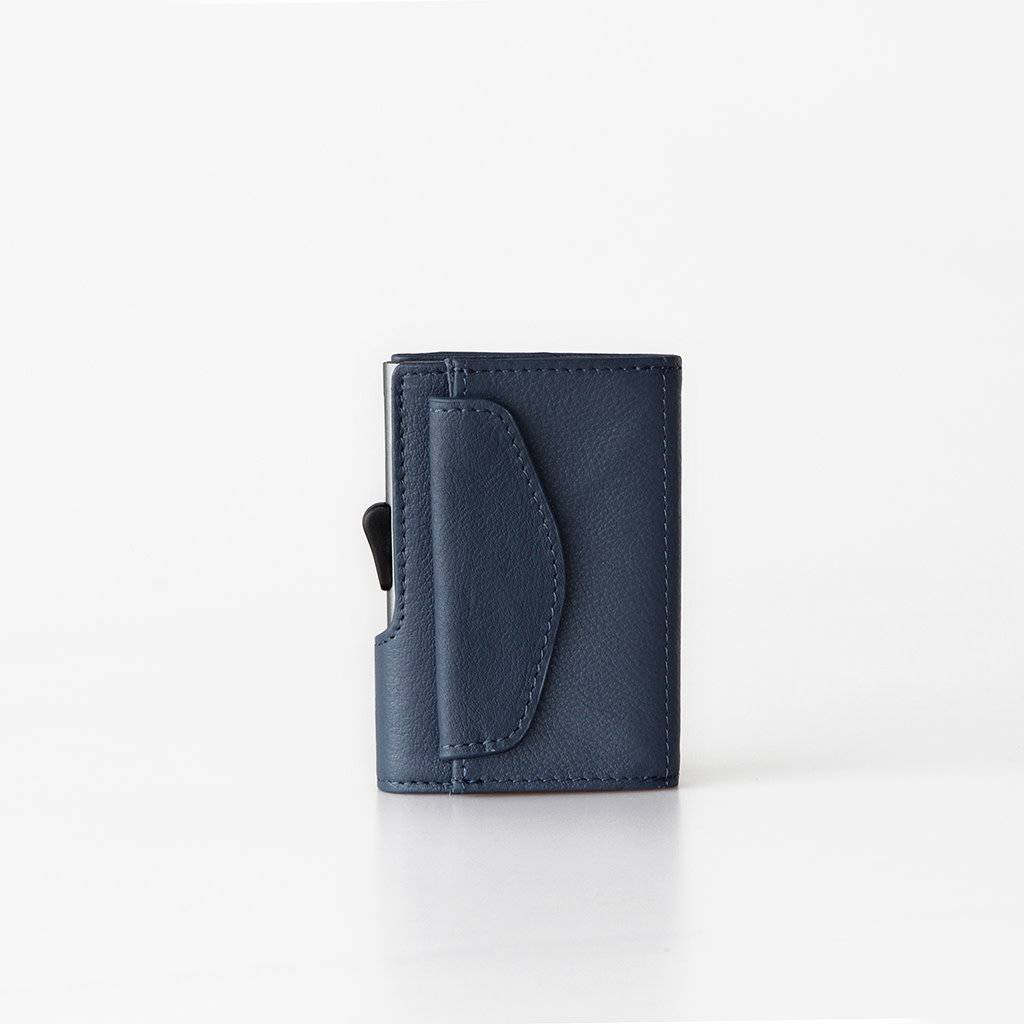 C-Secure C-Secure Coin Wallet Blue Marino