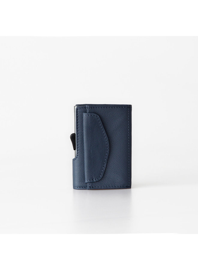C-Secure Coin Wallet Blue Marino