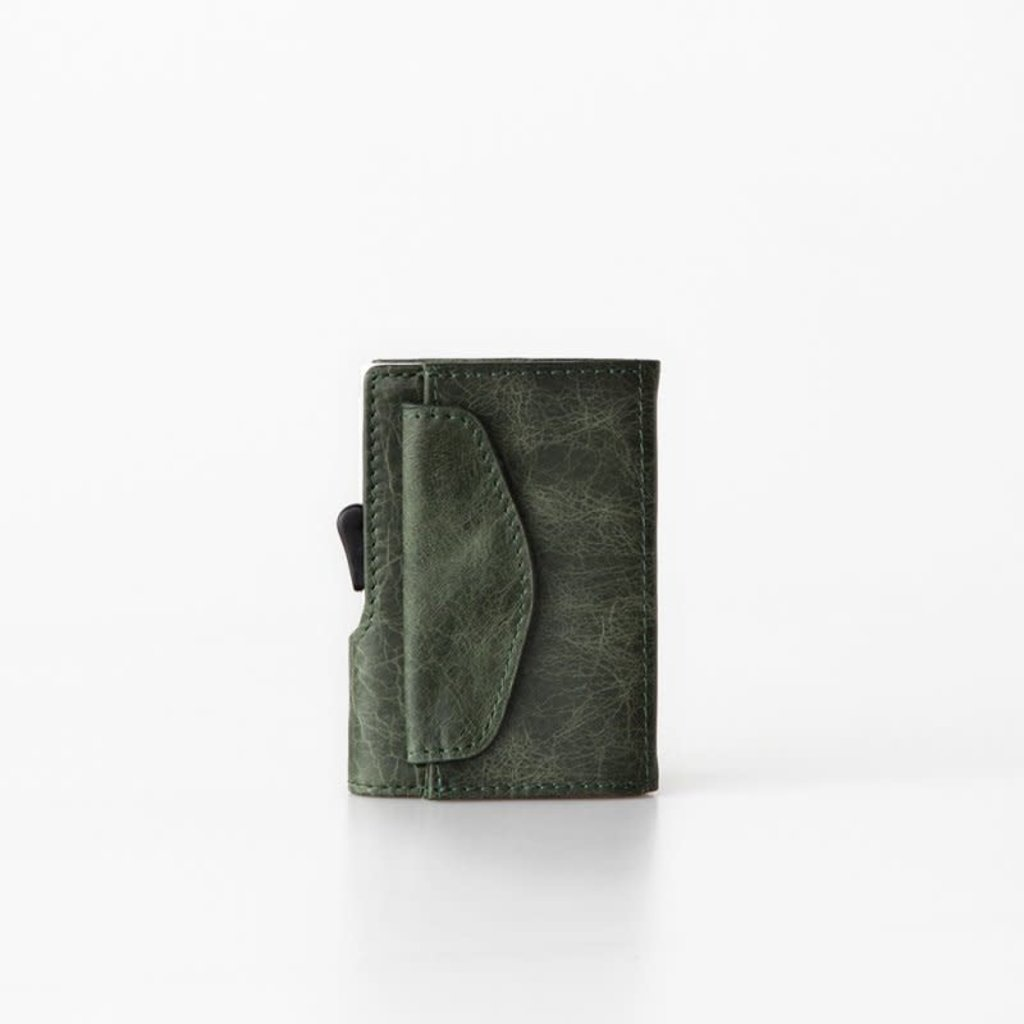 C-Secure C-Secure Coin Wallet Green