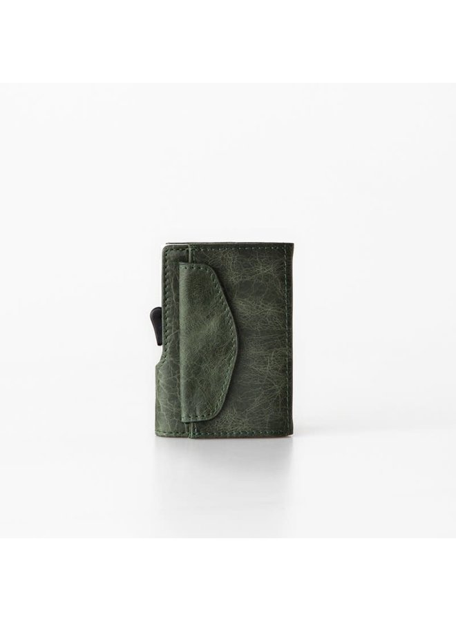 C-Secure Coin Wallet Green