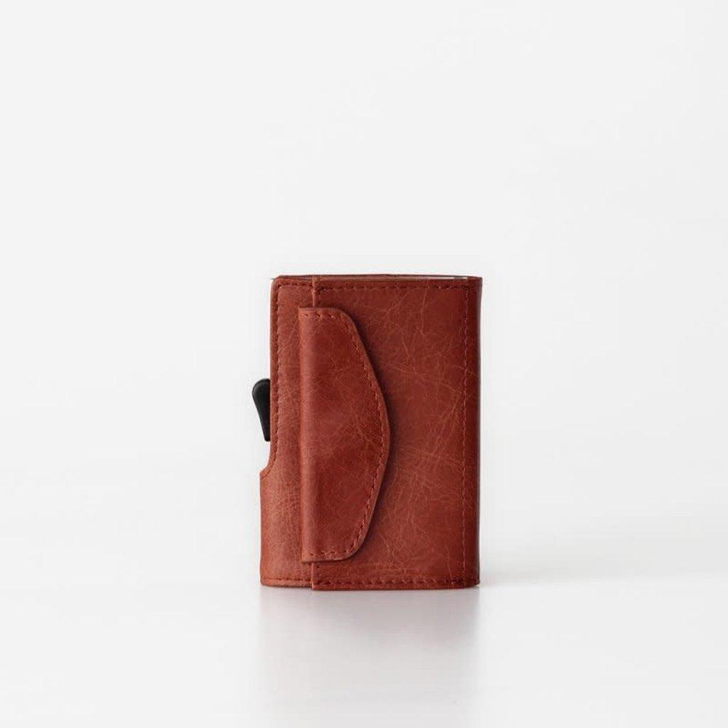 C-Secure C-Secure Coin Wallet Cognac