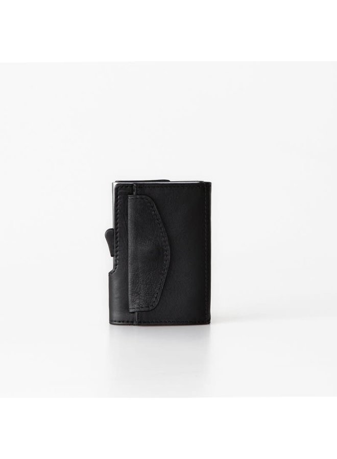 C-Secure Coin Wallet Black Nero