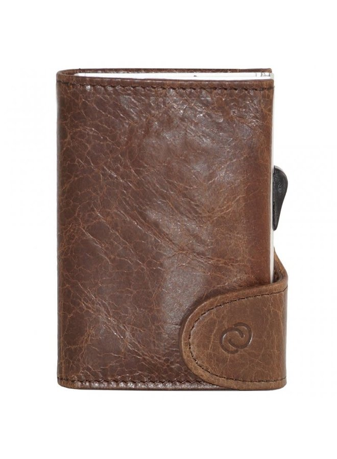 C-Secure Wallet Brown Dark
