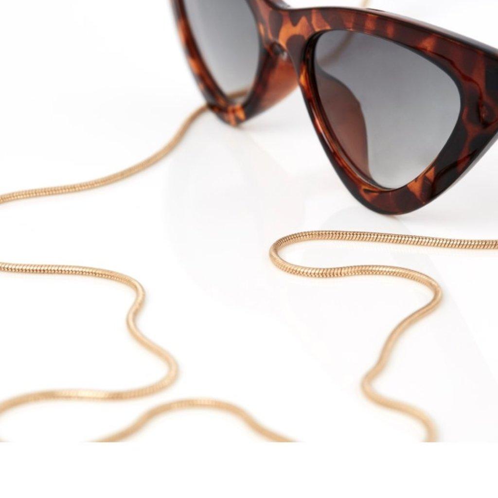Sunny Cords Sunny Cords zonnebrillenkoord Gold Delicate Snake