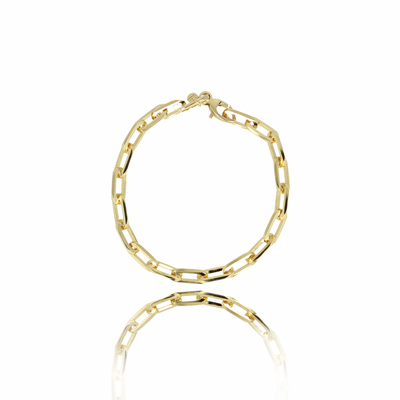 LOTT. LOTT. Gioielli armband Closed Forever Gold Plated
