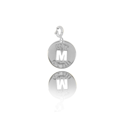 LOTT. LOTT. Gioielli Initial pendant Silver