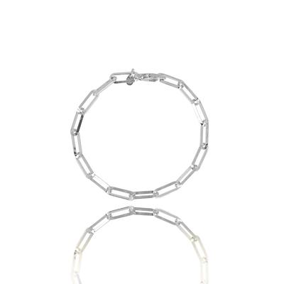LOTT. Gioielli LOTT. Gioielli armband Closed Forever Silver