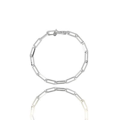 LOTT. LOTT. Gioielli armband Closed Forever Silver