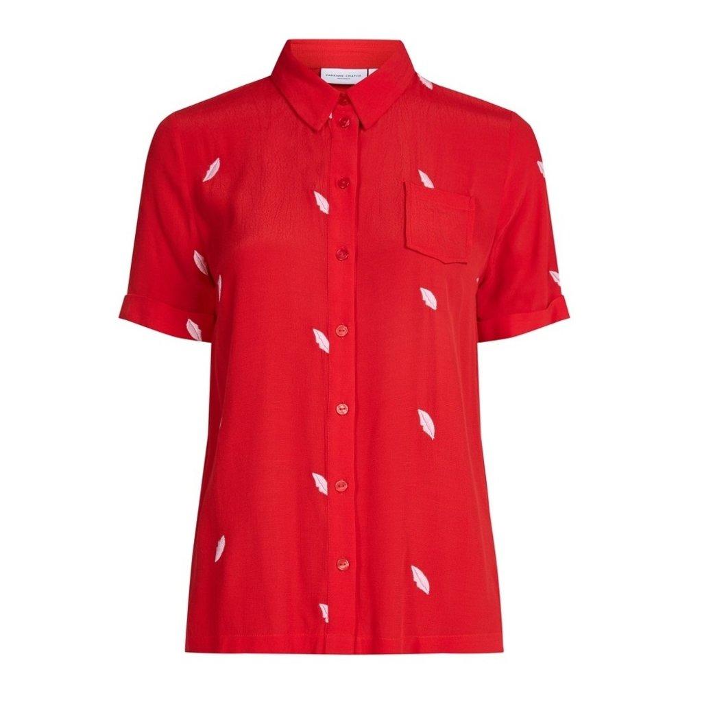 Fabienne Chapot Fabienne Chapot blouse Enyo Romance Red Loco Lips Embro