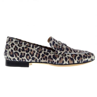 Tango loafer Pleun Leopard Suede