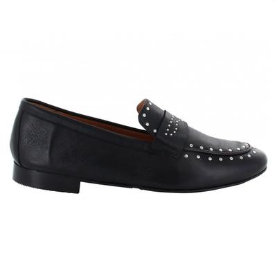 Tango Tango loafer Pleun 56-D Black Leather Studs