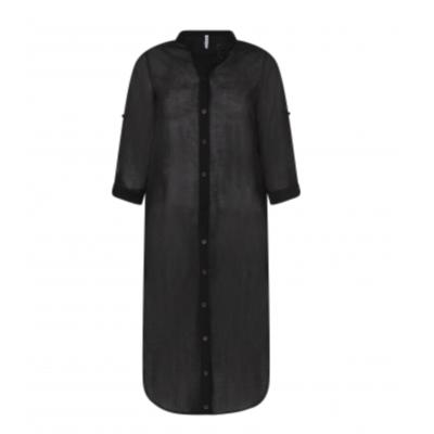 Zoso Zoso blouse Alice Long Voile Black
