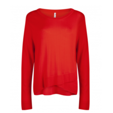 Zoso Zoso sweater KN1906 Knitted Orange Red