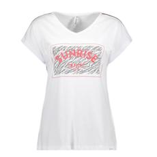 Zoso Zoso shirt 193 Sacha with Chestprint white/red