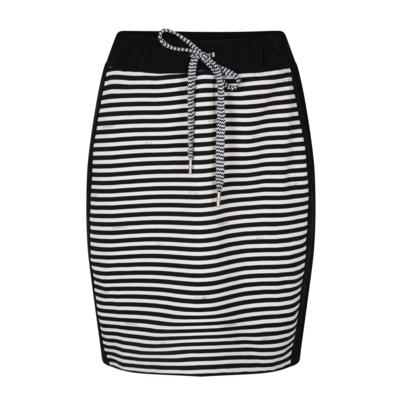 Zoso Zoso skirt Suus Striped Black White