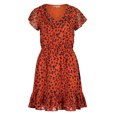 Milla Milla Dolly dress Tangarine Leo