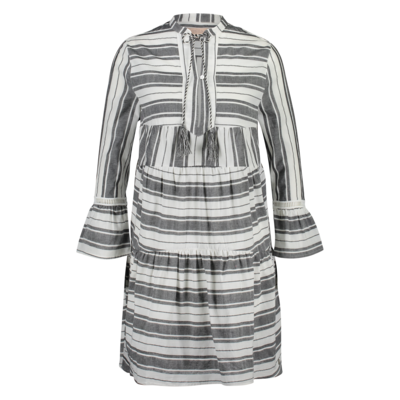 Milla Milla Donna dress Black White Stripe