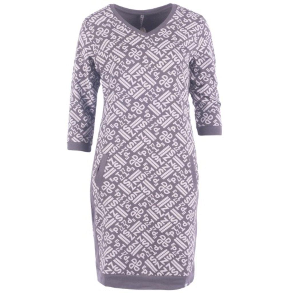 Zoso Zoso dress 192 Stacey Allover printed sporty 0004 grey