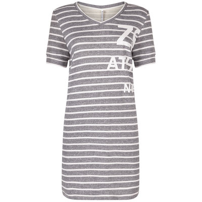 Zoso Zoso dress Holly Grey White