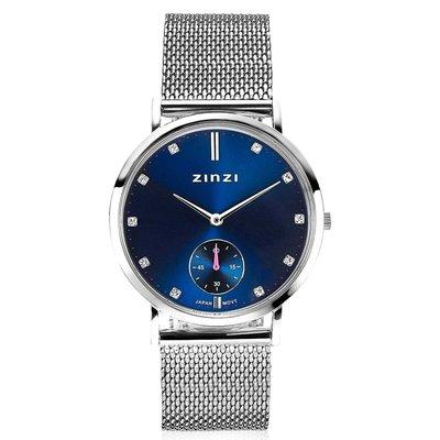 Zinzi Zinzi horloge Glam Blauw/Silver