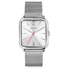 Zinzi Zinzi horloge Square Roman ZIW802M Metallic Silver