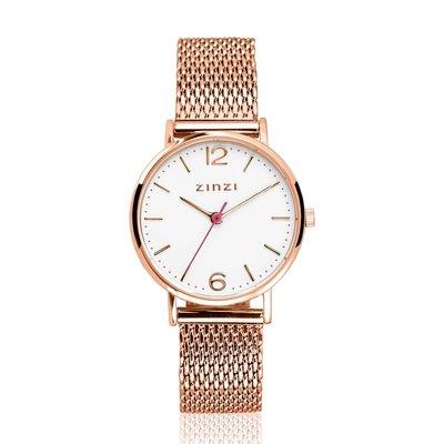 Zinzi Zinzi horloge Lady Rosé Gold Plated